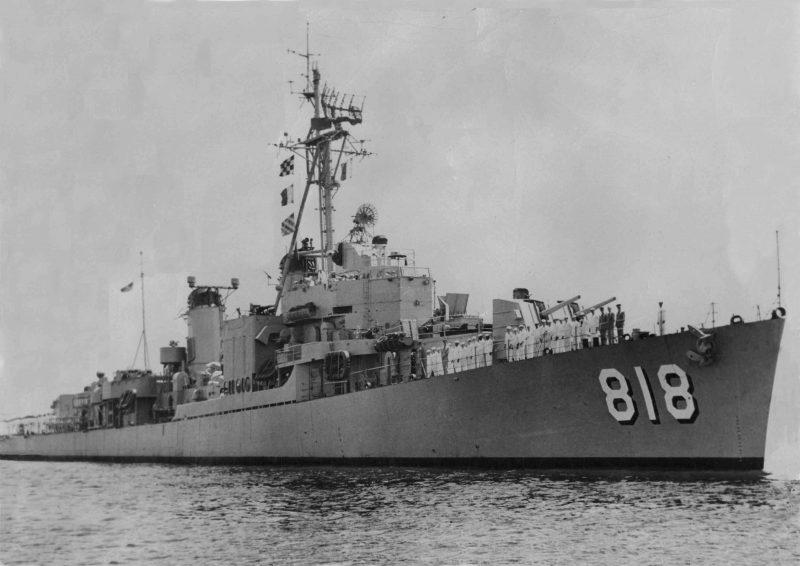 Корабли типа «Гиринг» - вершина развития американских эсминцев