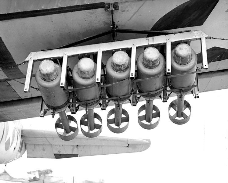 Бомбометная установка «Маустрэп» - «мышеловка» для подводных лодок