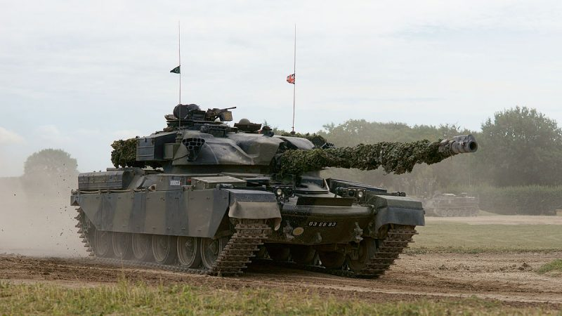 Британский основной боевой танк «Чифтен»