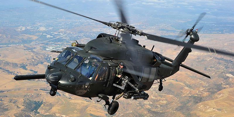 Многоцелевой вертолет Сикорский UH-60A «Блэк Хок»