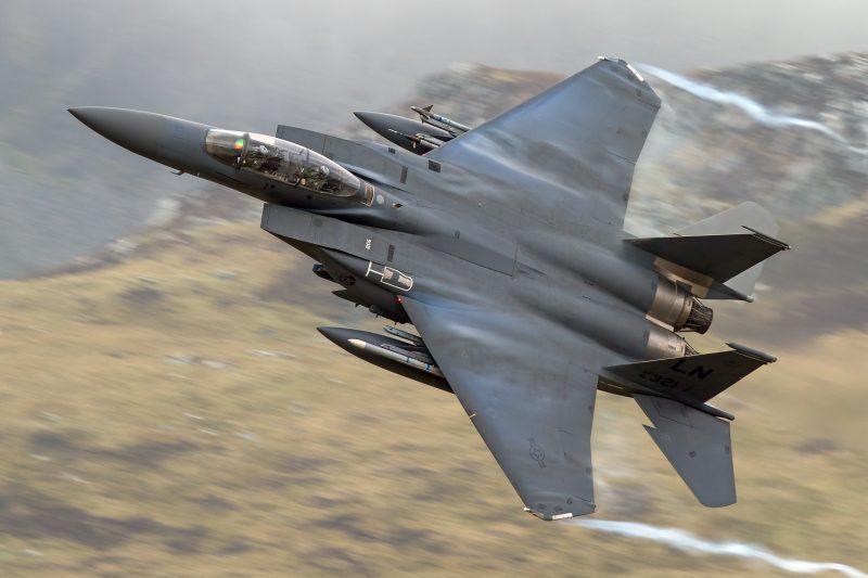 Истребитель-бомбардировщик F-15E «Страйк Игл»