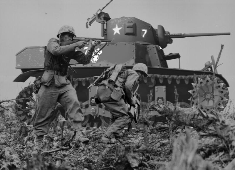 Легкий танк М3/М5 «Генерал Стюарт»