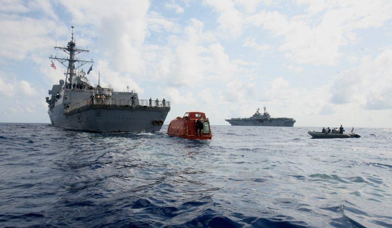 Освобождение американского контейнеровоза «Маерск Алабама»