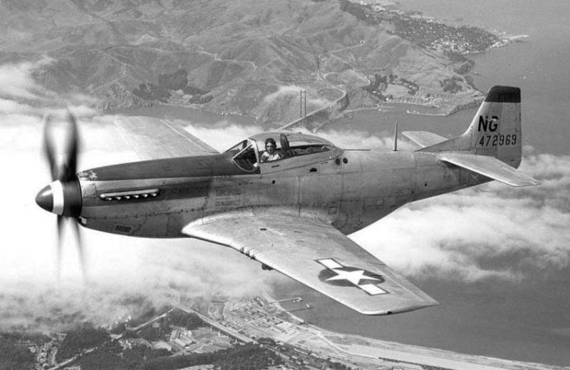 Норт Американ Р-51 «Мустанг» - лучший американский истребитель Второй мировой войны