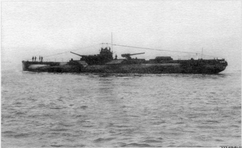 Немецкие подводные крейсера класса U-139 и U-151