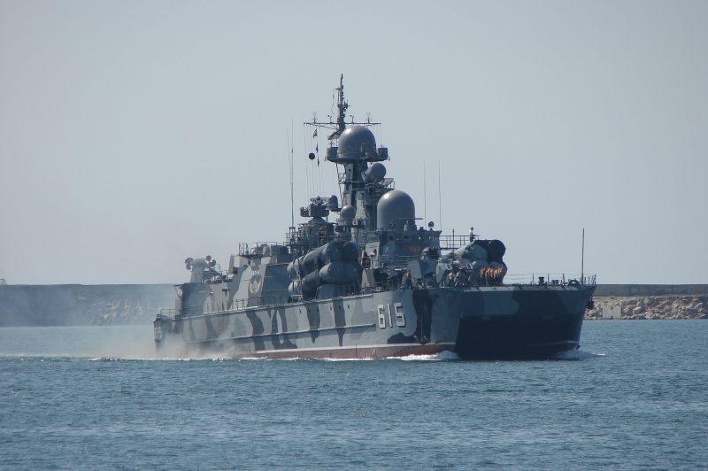 Малые ракетные корабли проекта 1239