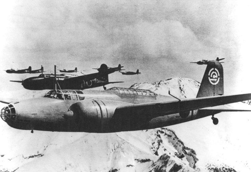 Бомбардировщик Мицубиси Ки-21 - средний в роли тяжелого