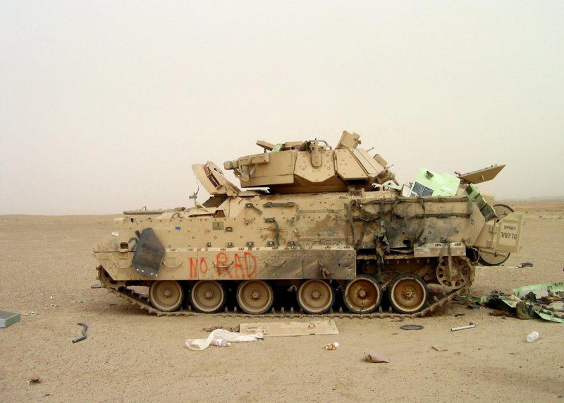 «Битва у 73 Истинг» - крупнейшее танковое сражение войны в Ираке