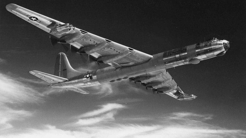 Бомбардировщик «Конвэр» B-36 «Писмейкер» - стратегический «Миротворец»