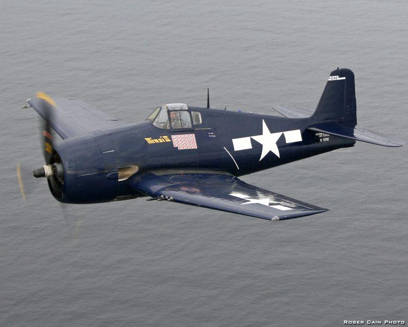 Палубный истребитель F6F «Хеллкэт»