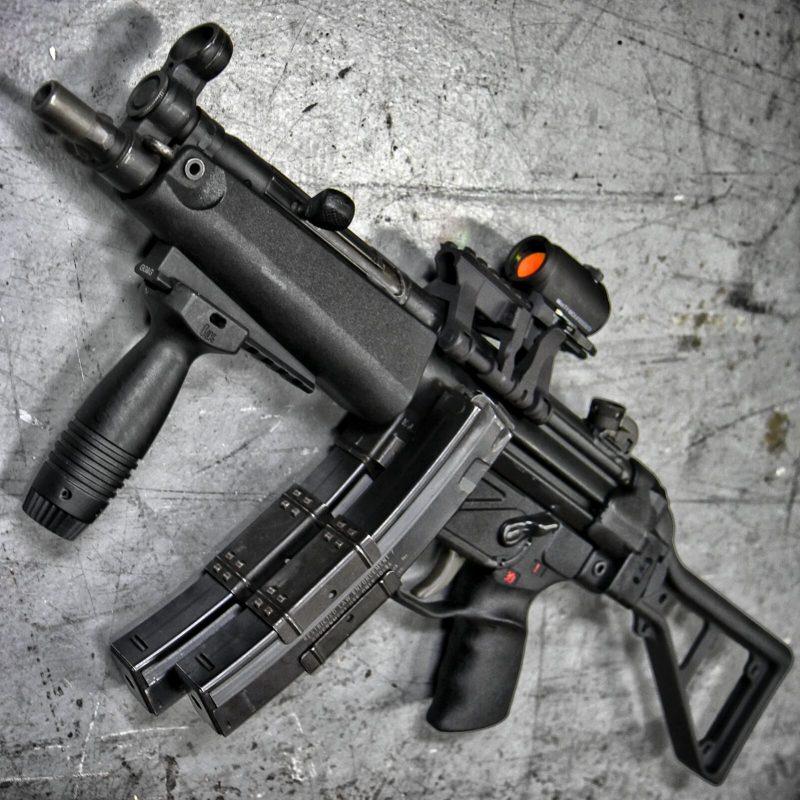 Пистолет-пулемет MP5 - самый знаменитый «немец»