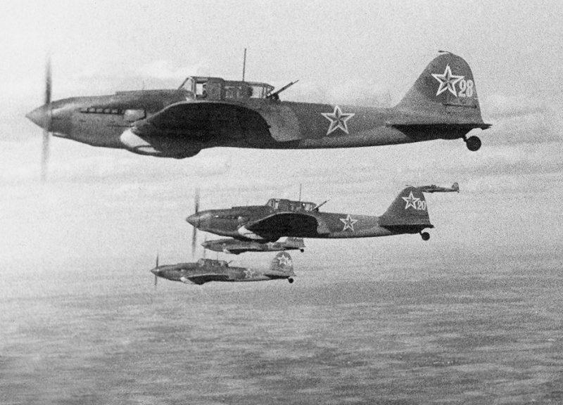 Штурмовик Ил-2 - «черная смерть»
