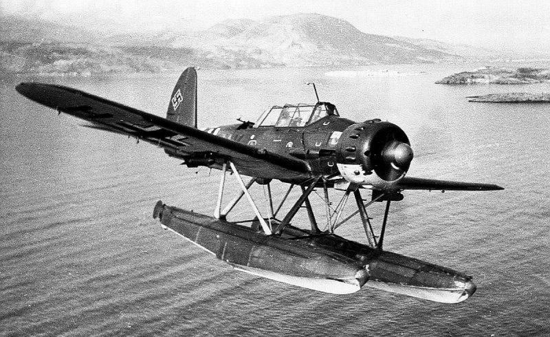Одномоторный двухместный гидросамолет «Арадо» Ar 196
