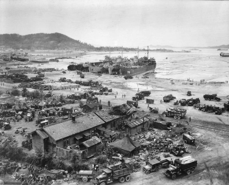 Война в Корее: Инчхонская десантная операция