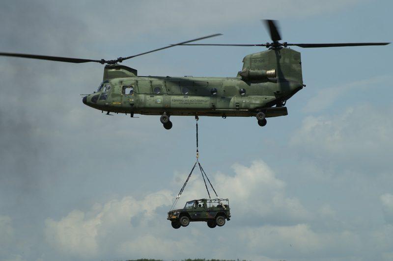 Транспортный вертолет CH-47 «Чинук»