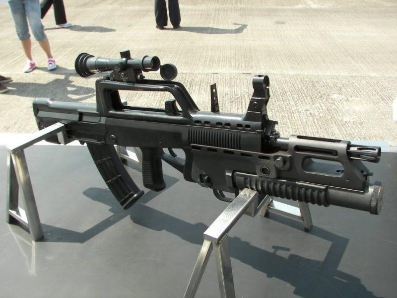 Китайское семейство автоматического оружия Тип 95 (QBZ-95)