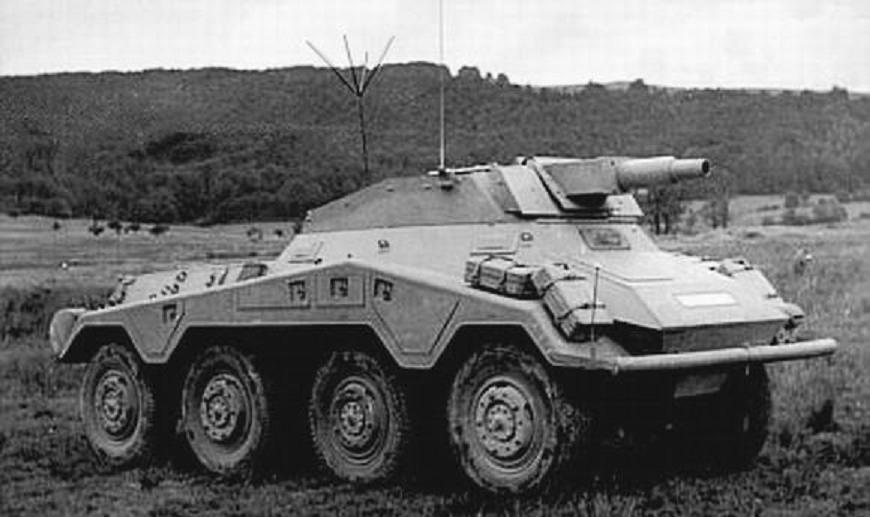 Schwere Panzerspahwagen - тяжелые бронеавтомобили вермахта