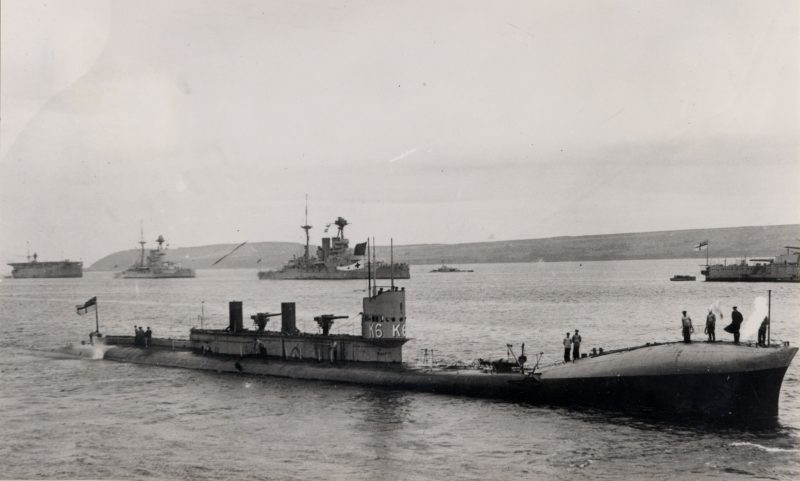 Подводные лодки типа J и K
