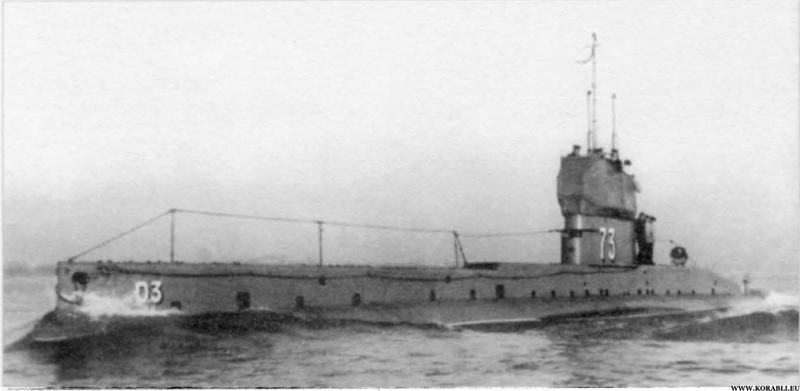 Американские подводные лодки типов В, С, D и Е