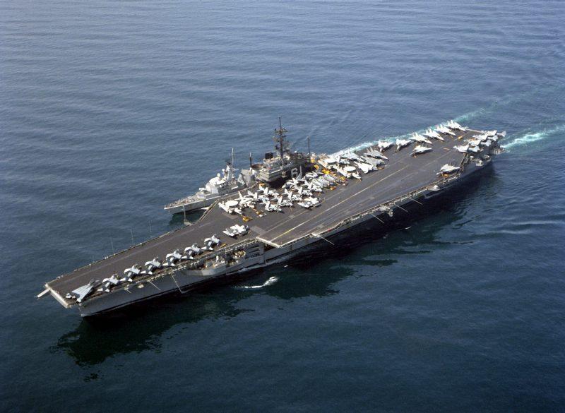 Авианосцы класса «Форрестол» - самые большие боевые корабли того времени