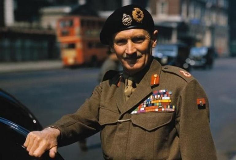 Бернард Монтгомери - национальный герой Великобритании