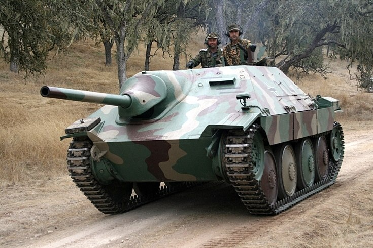 САУ «Хетцер» - истребитель танков