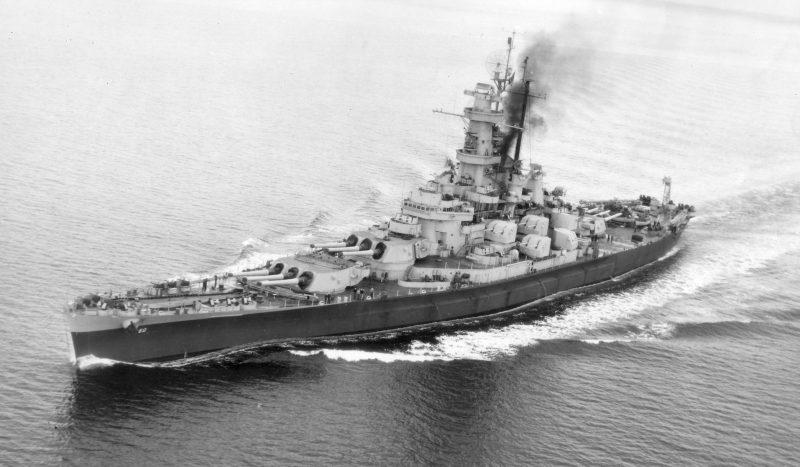 Линейные корабли класса «Саут Дакота»