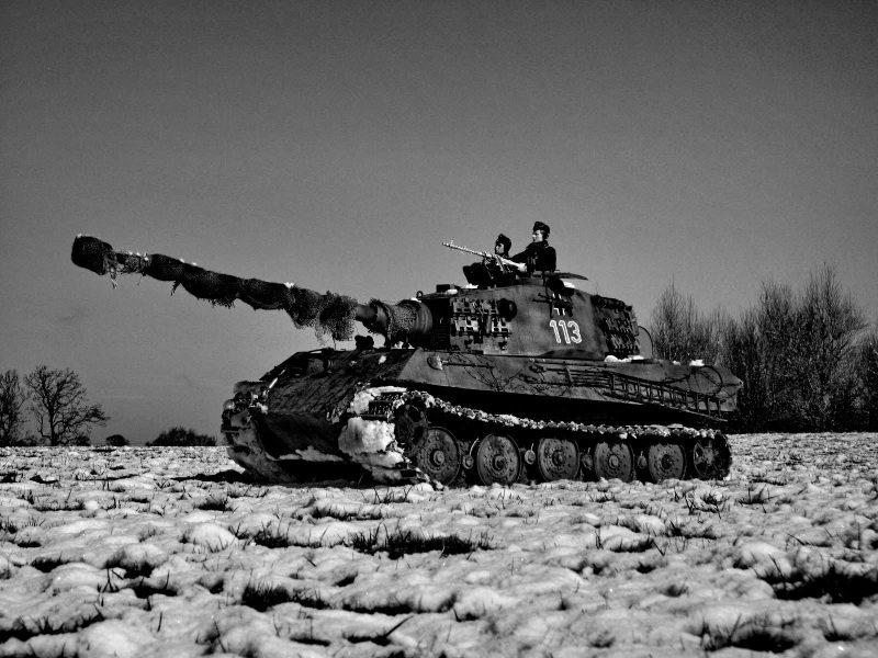 Тяжелый танк «Королевский тигр»