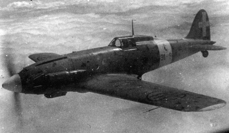 Истребители «Макки» МС.202 «Фольгоре» и MC.205 «Вельтро»