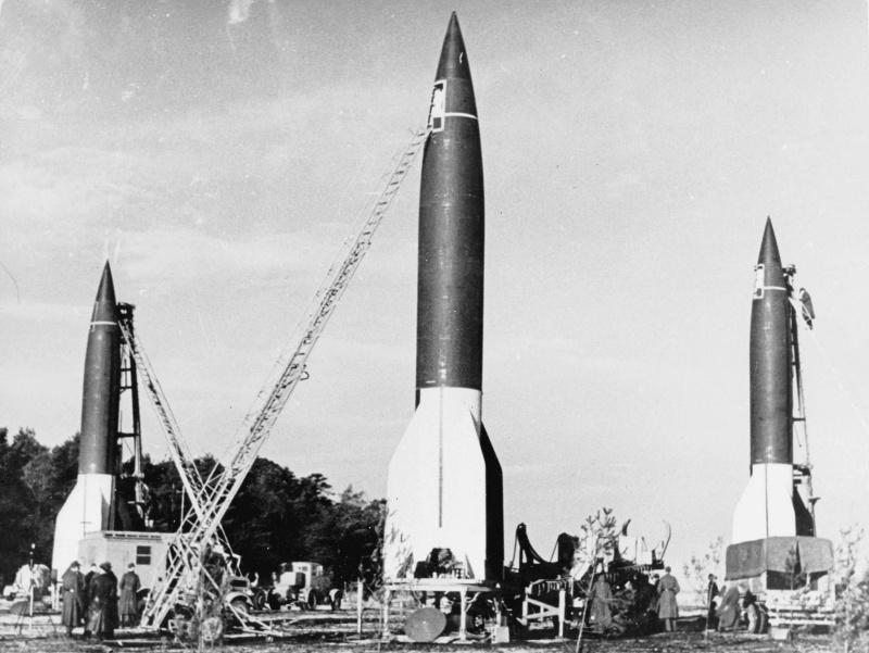 «Фау-2» - начало карьеры баллистических ракет