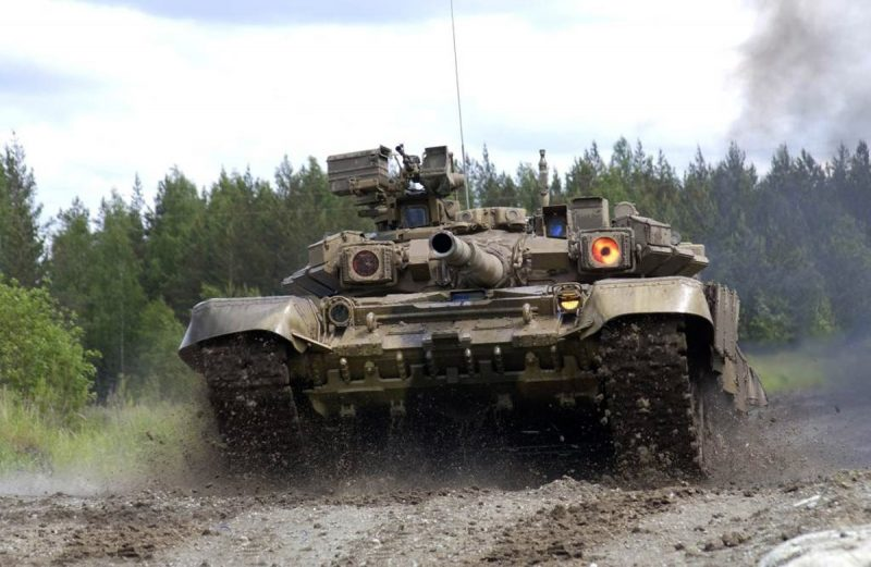 Т-90 - основной боевой танк России