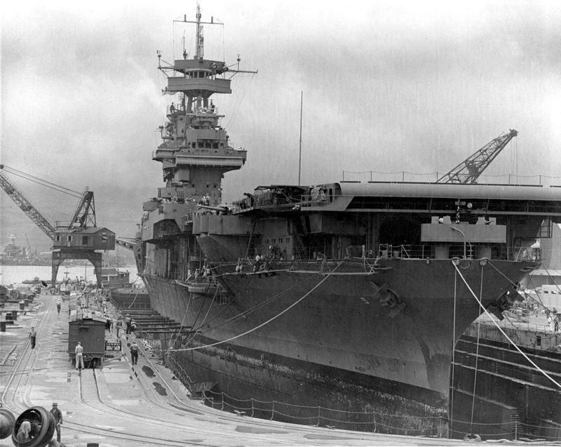 Авианосец CV-5 «Йорктаун»