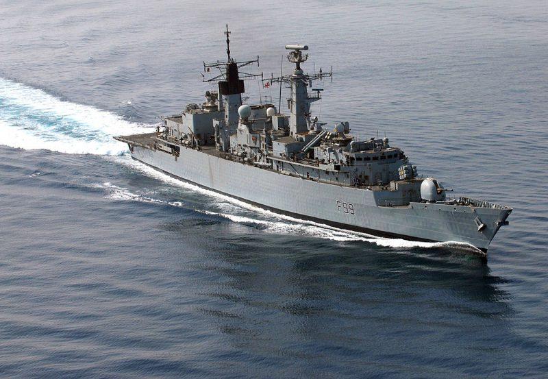 Фрегаты типа «Бродсуорд» - «палаши» королевского флота