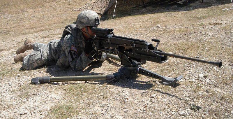 Пулемет LW50MG - очередной конкурент «Браунингу»