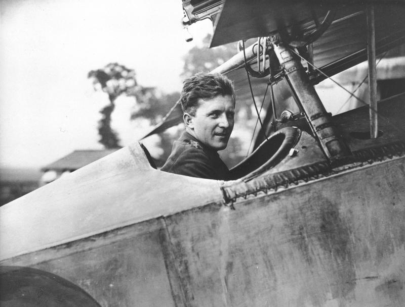 Уильям Бишоп - самый результативный канадский пилот Первой мировой