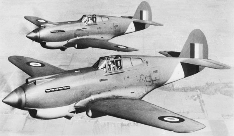 Истребитель «Кертисс» Р-40