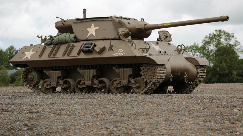 САУ М10 - истребитель танков