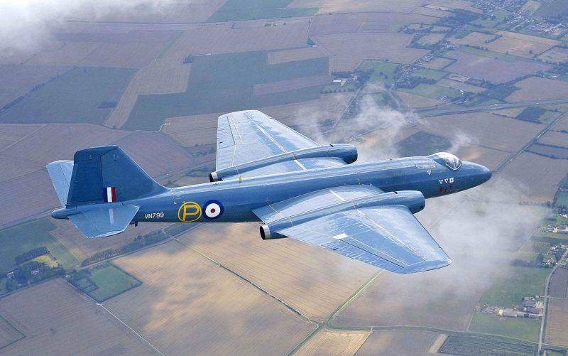 «Инглиш Электрик» «Канберра» - выдающийся самолет английской разработки