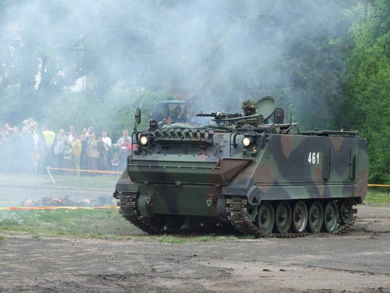 Бронетранспортер M113 - самая массовая бронированная машина