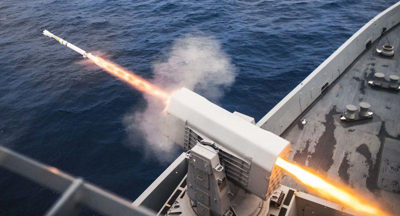 Зенитные ракетные комплексы RAM/ASMD