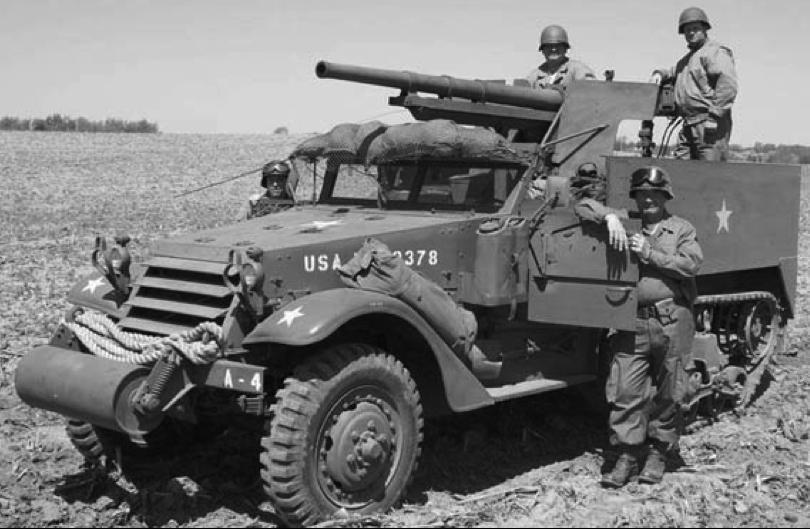САУ М3 GMC - старая «француженка» в новой роли