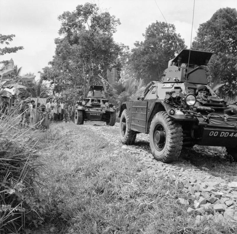 Малайзия - Индонезия (1963-1966) - вялотекущий конфликт