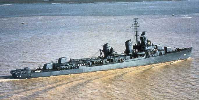 Эсминцы типа «Бенсон» - «рабочие лошадки» флота