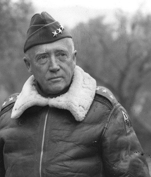 Джордж Паттон - четырехзвездный генерал