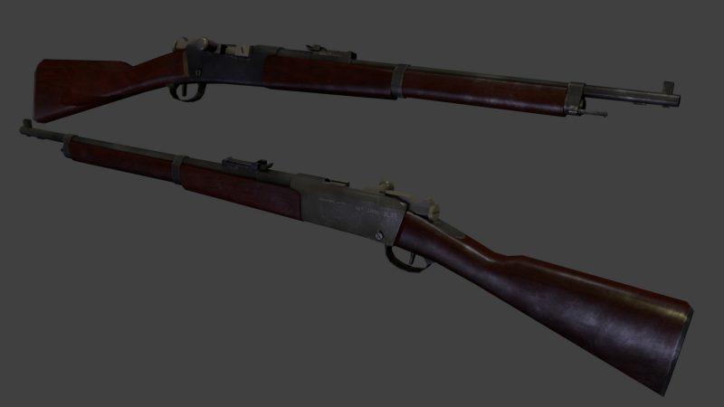 Французские магазинные винтовки от «Лебеля» к «Бертье»