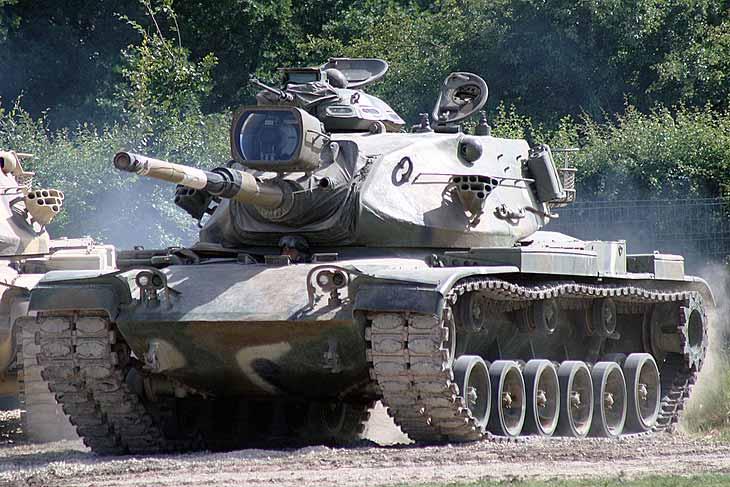 Средний танк М60
