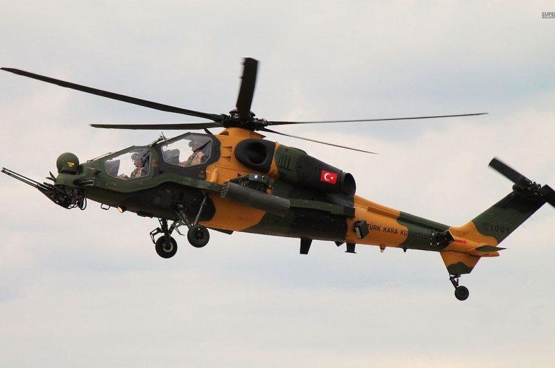 Ударный вертолет Т-129 АТАК