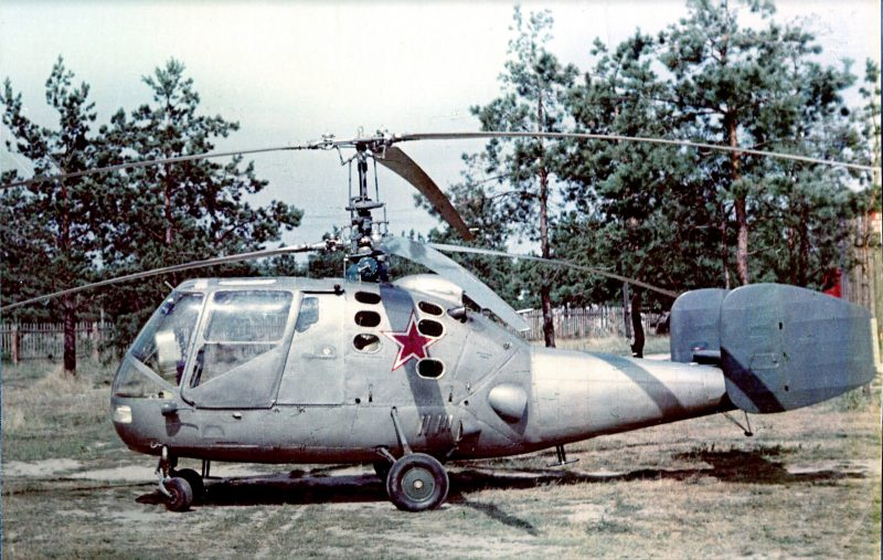 Первый советский палубный вертолет Ка-15