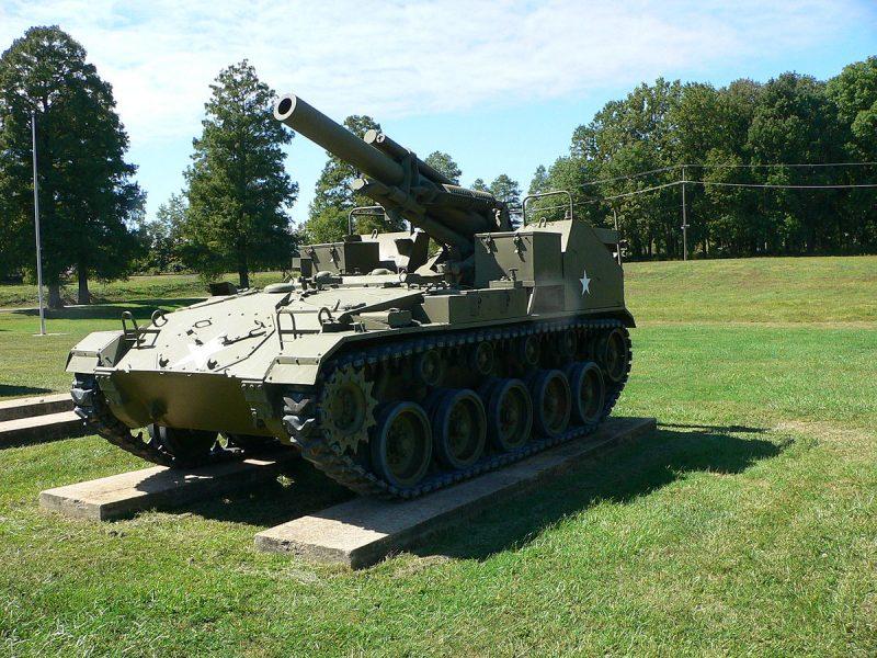 Самоходная артиллерийская установка (САУ) М41 «Горилла»