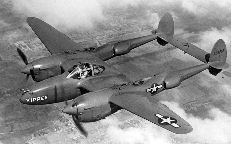 Истребитель «Локхид» P-38 «Лайтнинг»